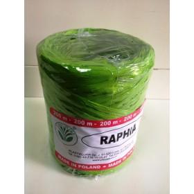Рафия - зелено