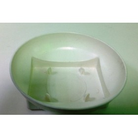 Пластмасова чиния - кръгла