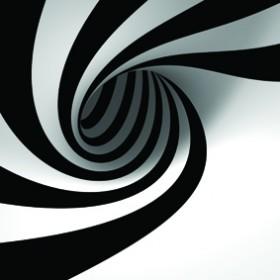картина - черно и бяло