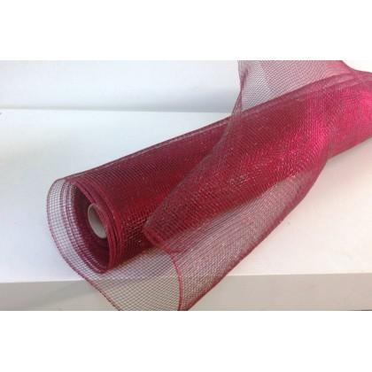 Мрежа - бордо с черно от www.cvetarski.com