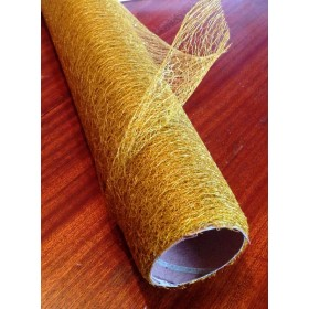 Мрежа текстил - злато