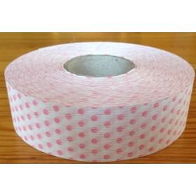 Панделка на точки - розова