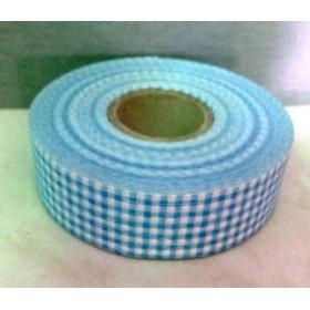 Панделка каре - синьо