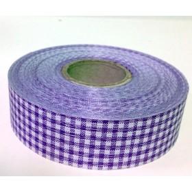 Панделка каре - лилава