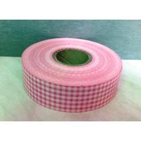 Панделка каре - розово