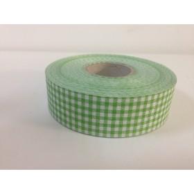 Панделка каре - зелена