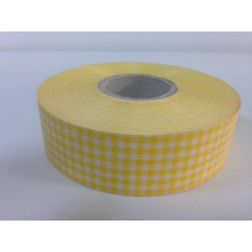 Панделка каре - жълта