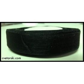 Панделка Органза - черна