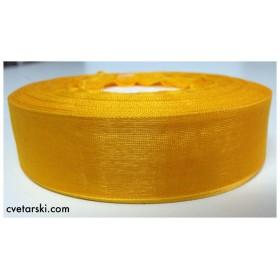 Панделка Органза - оранжева