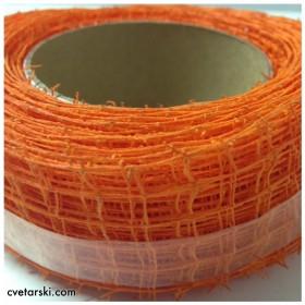 Панделка Мрежа - Оранжева
