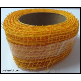 Панделка Мрежа - Жълто