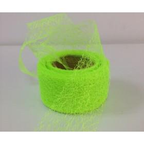 Панделка мрежа текстил - светло зелена