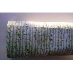 Хартия - Ноти - зелено