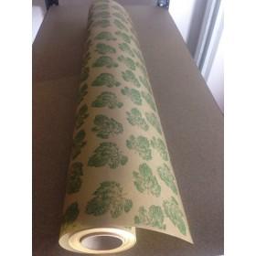 Крафт хартия - Листа - зелен