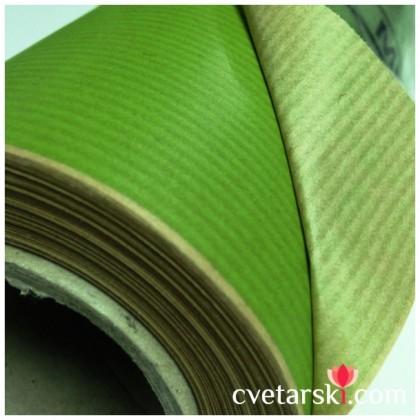 Крафт хартия - светло зелено от www.cvetarski.com