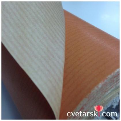 Крафт хартия - оранжева от www.cvetarski.com