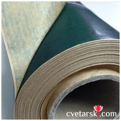 Крафт хартия - тъмно зелено от www.cvetarski.com