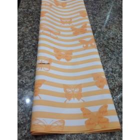 Хартия - Райе с  оранжеви пеперуди