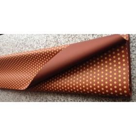 Хартия - двустранна - Шоколад на големи точки