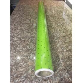 Хартия - Ролка - зелена на точки