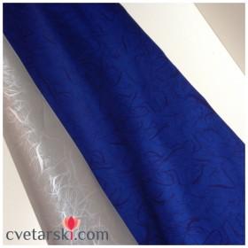 Хартия синьо и сребро