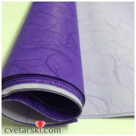 Хартия - двустранна - виолетова