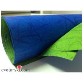 Хартия - двустранна - зелено и синьо