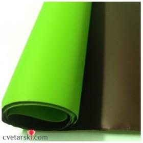 Хартия - двустранна - зелено и кафяво