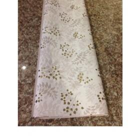 Хартия - Бяла със златни клонки