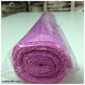 Креп Хартия - светло лилава