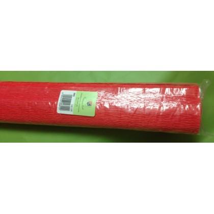 Италиански креп - светло червено от www.cvetarski.com