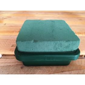 Подложка квадрат с пиафлора- зелена