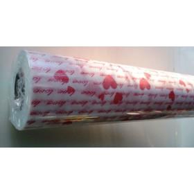 Текстил Тишу - бяло на сърца