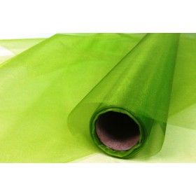Органза - зелена