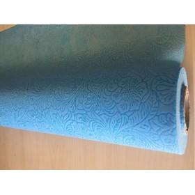 Текстил Тишу - Щампа - светло синьо